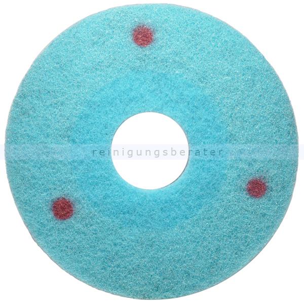 Glit blu Pad mittel 800er Körnung, 432 mm 17 Zoll Diamantpad Diamantpad für Steinbeläge und elastische Bodenbeläge 60180017