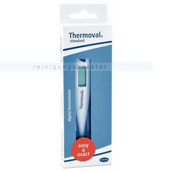 Paul Hartmann AG Thermoval standard digitales Fieberthermometer für einfaches und zuverlässiges Fiebermessen 9250215