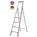 Doppelleiter Hymer 5 Stufen Stufenstehleiter mit Plattform