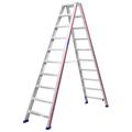 Doppelleiter Hymer D-Holm Stufenstehleiter 2x10 Stufen