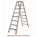 Doppelleiter Hymer Industrie Stufenstehleiter 2x2 Stufen