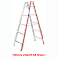 Doppelleiter Hymer Sprossenstehleiter 2x6 Sprossen