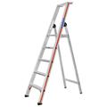 Doppelleiter Hymer Stufenstehleiter mit Plattform 5 Stufen
