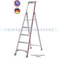 Doppelleiter Hymer Stufenstehleiter mit Plattform 8 Stufen