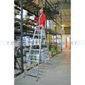Doppelleiter Krause Stabilo - 2x10 Stufen