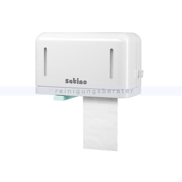 Doppelrollen-Toilettenpapierspender Wepa