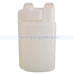 Dosierflasche 2-Kammer-System Leerflasche ohne Deckel 1 L