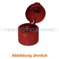 Dosierflasche Buzil Klappdeckel für ND 28 rot