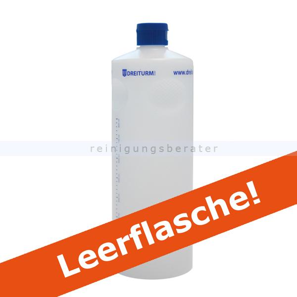 Dreiturm Griffmuldenflasche Leerflasche 1 L Dosierflasche leere 1 L Dosierflasche bzw. Rundflasche mit Verschluß 4891
