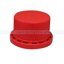 Dosierflasche Verschlusskappe Garantieverschluss rot