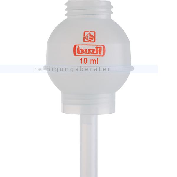 Dosierhilfe Buzil H618 10 ml Dosierkugel, passend für alle 1 L Flaschen von Buzil H618-0001