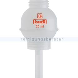 Dosierhilfe Buzil H623 Dosieraufsatz 20 ml farblos