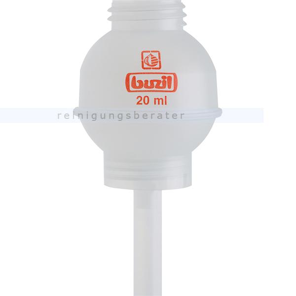 Dosierhilfe Buzil H623 Dosieraufsatz 20 ml farblos passend für 1 L-Buzil-Flaschen H623-0001