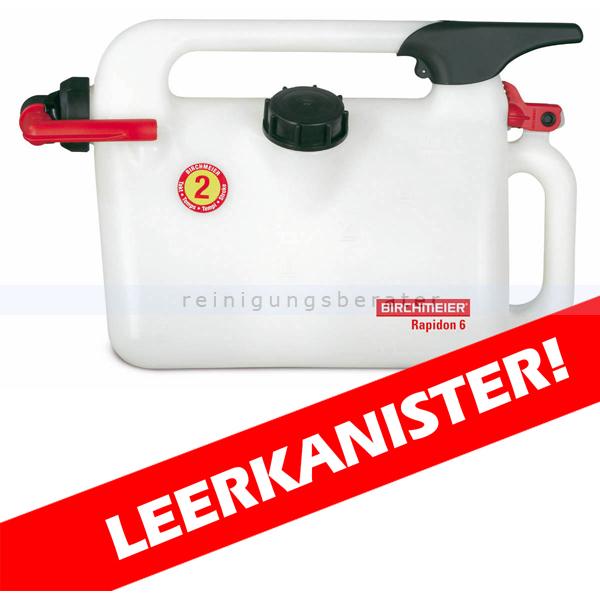 Birchmeier Rapidon 6 Benzinkanister 6 Liter Kunststoff Benzinkanister mit Dosiervorrichtung 11851301