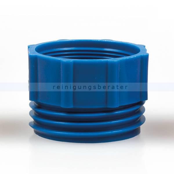 ReinigungsBerater Dosierpumpe Adapter blau für Hebepumpe 2 Mauser / 2 NPS/BSP, für 200 L Fässer 121.400.420