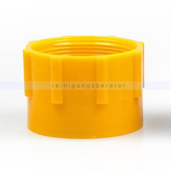 ReinigungsBerater Dosierpumpe Adapter gelb für Hebepumpe DIN61 2 NPS/BSP, für 25, 30 und 60 L Kanister 121.400.410