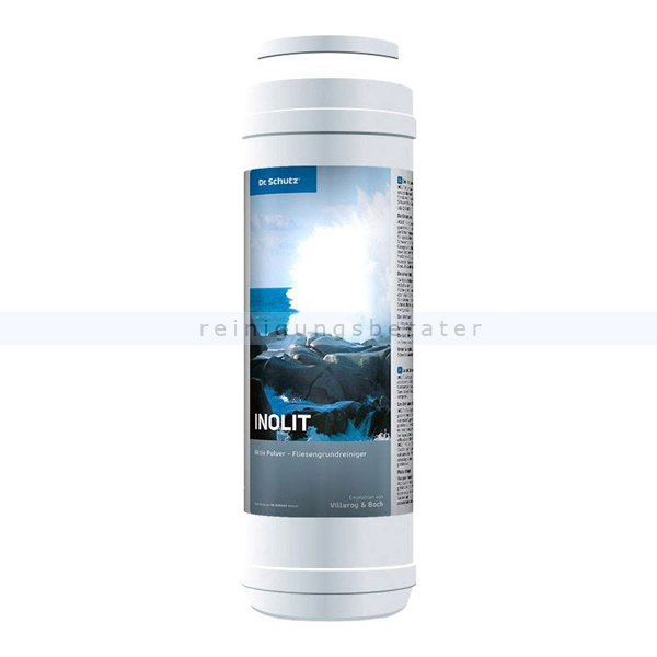 Dr. Schutz Inolit aktiv Pulver Streudose 1 kg Zementschleierentferner für Fliesen- und Keramik 3210000124