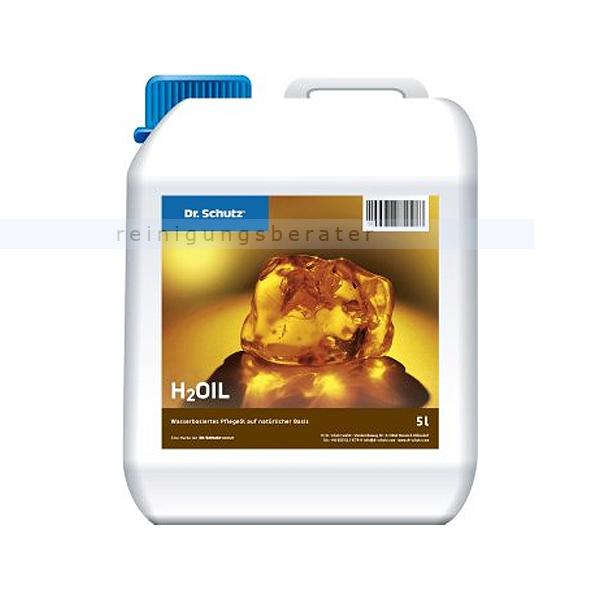 Holz-Öl Dr. Schutz Pflegemittel H2Oil 5 L für geölte Parkett- und Korkböden 2140000505