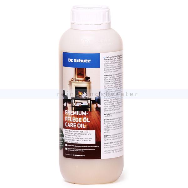Holz-Öl Dr. Schutz Pflegemittel Premium Pflegeöl 1 L für geölte Parkett- und Korkböden 0162000105