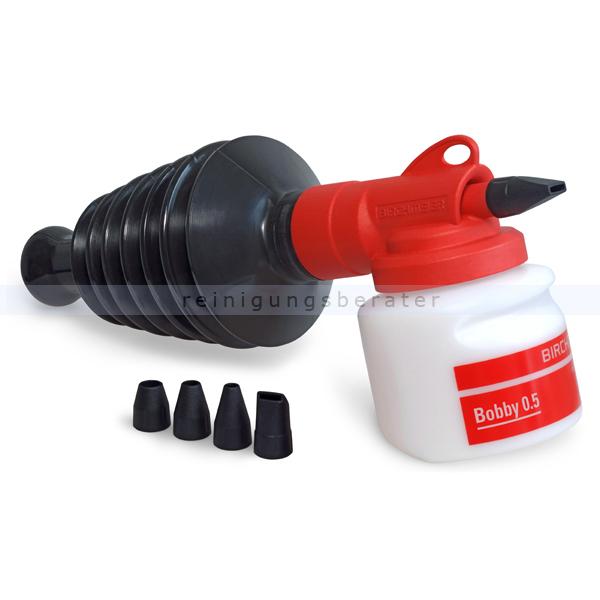 Birchmeier Bobby Handzerstäuber Pulverzerstäuber 0,5 L kleiner und leichter Handzerstäuber Pulverzerstäuber 12043301