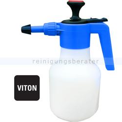 Drucksprühgerät Drucksprühflasche Leerflasche 1,5 L blau