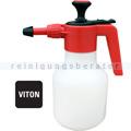 Drucksprühgerät Drucksprühflasche Leerflasche 1,5 L rot