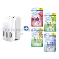 Duftspender Febreze 3Volution SET mit 4 Sorten & Stecker