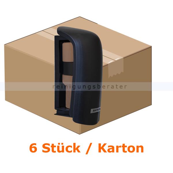 Duftspender KATRIN Kunststoff schwarz 6 Stück/Karton ohne Treibmittel, keine Batterien, passives System 42999
