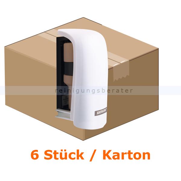 Duftspender KATRIN Kunststoff weiß 6 Stück/Karton ohne Treibmittel, keine Batterien, passives System 43040