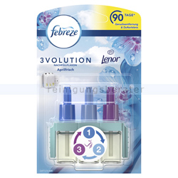 Duftspender P&G Febreze 3Volution Flakon Lenor Aprilfrisch