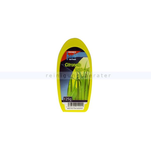 Duftspender Reinex Fresh Citronella Duftgel 125 g angenehmer und beruhigender Raumduft 1090