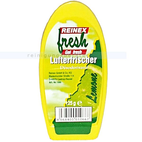 Duftspender Reinex Gel 125 g Lemone angenehmer und fruchtiger Raumduft 1066