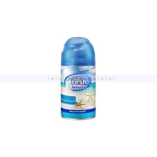 Duftspray Ream Fresh Lufterfrischer Meeresbrise 250 ml Nachfüller für Duftspender 654509 04511
