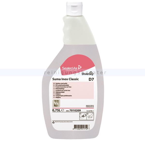 Edelstahlpflege Diversey Suma Inox Classic D7 0,75 L