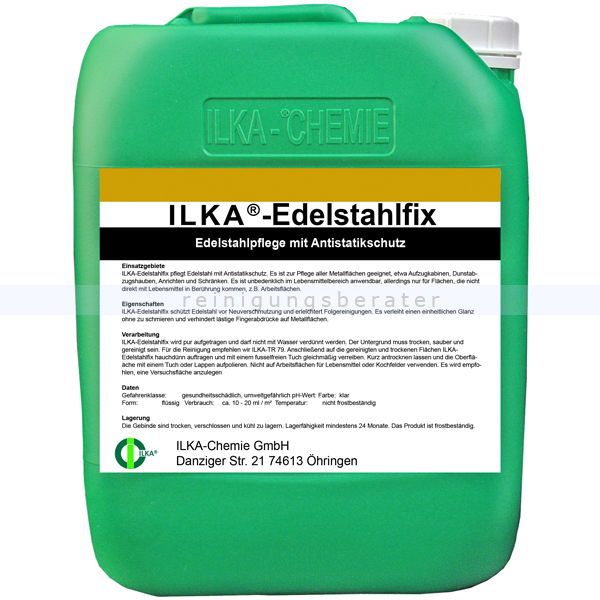 Edelstahlreiniger ILKA Edelstahlfix 30 L
