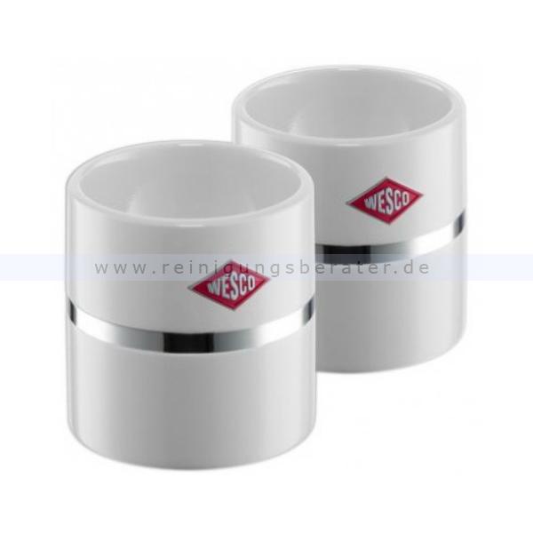 wesco tableware eierbecher 2er set wei 322864 01. Black Bedroom Furniture Sets. Home Design Ideas