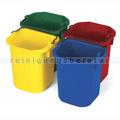 Eimersatz Rubbermaid 5 L in Grün, Rot, Blau, Gelb 4 Stück