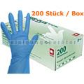 Einmalhandschuhe Ampri Basic Revolution TPE blau 200er S
