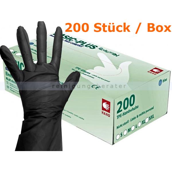 Einmalhandschuhe Ampri Basic Revolution TPE schwarz L