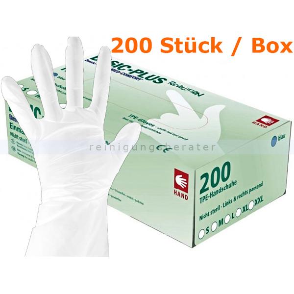 Einmalhandschuhe Ampri Basic Revolution TPE weiß XL