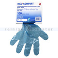Einmalhandschuhe Ampri Med Comfort blau L 100 Stück
