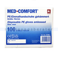 Einmalhandschuhe Ampri Med Comfort transparent L