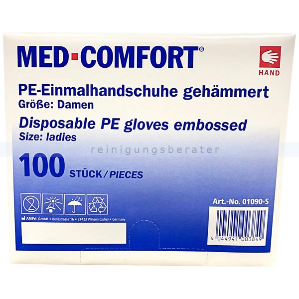 Einmalhandschuhe Ampri Med Comfort transparent S