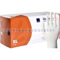 Einmalhandschuhe aus Latex Abena Classic 30 cm lang weiß XL