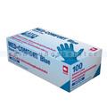 Einmalhandschuhe aus Latex Ampri Med Comfort Blue blau M
