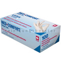 Einmalhandschuhe aus Latex Ampri Med Comfort weiß L