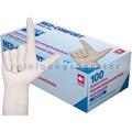 Einmalhandschuhe aus Latex Ampri Med Comfort weiß M