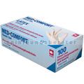 Einmalhandschuhe aus Latex Ampri Med Comfort weiß S