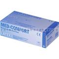 Einmalhandschuhe aus Latex Ampri Med Comfort weiß XS