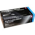 Einmalhandschuhe aus Latex Ampri Style Latex Black schw. XL